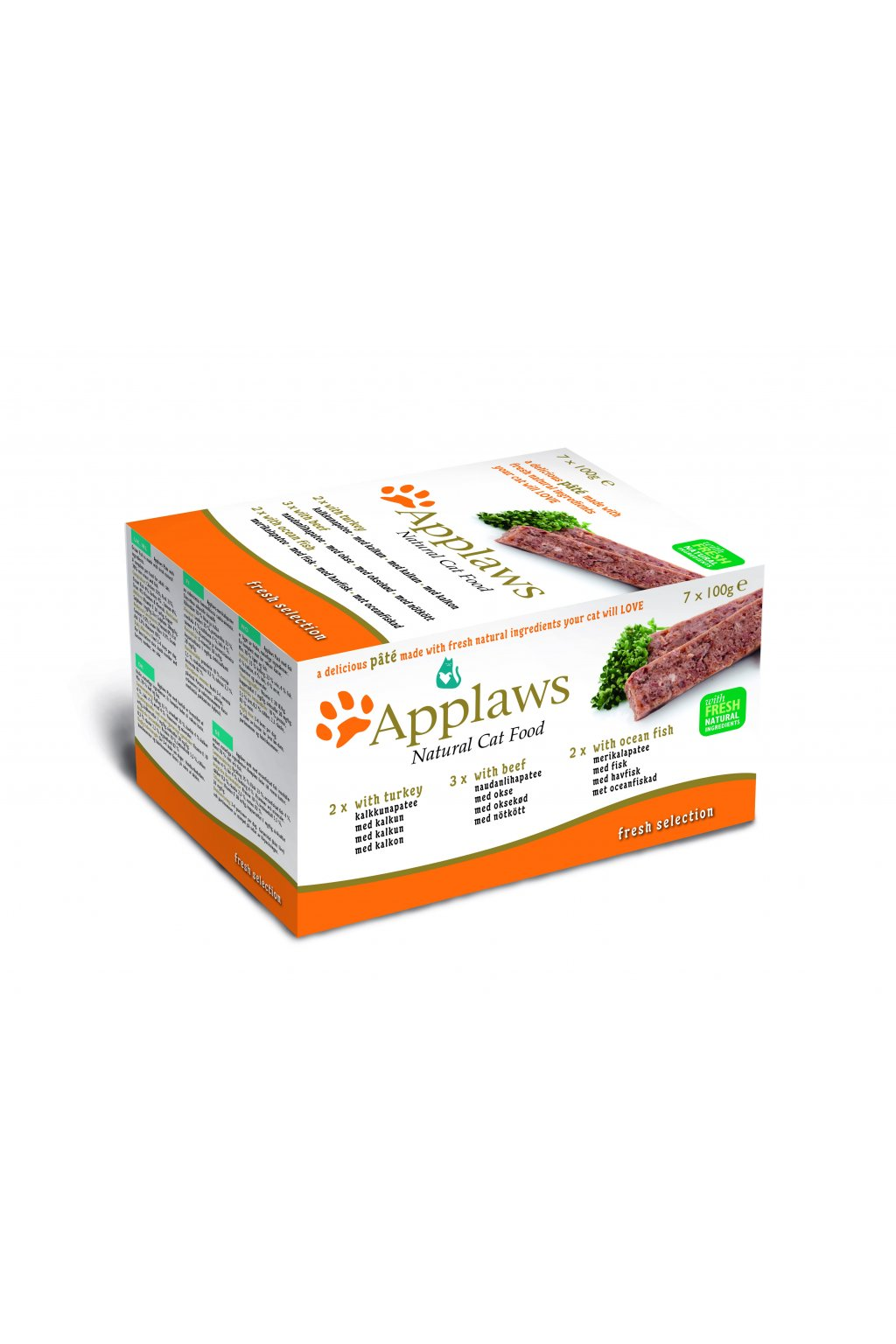6008 Applaws Pate CAT 7x100g MP Fresh