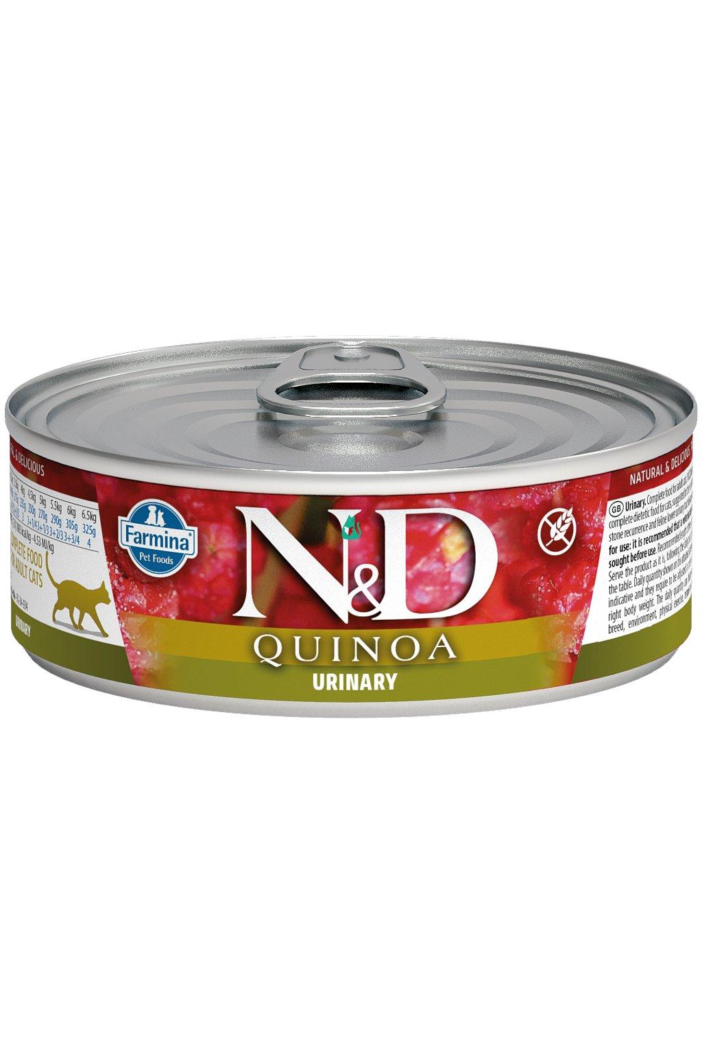 nd quinoa feline 80g URINARY@web