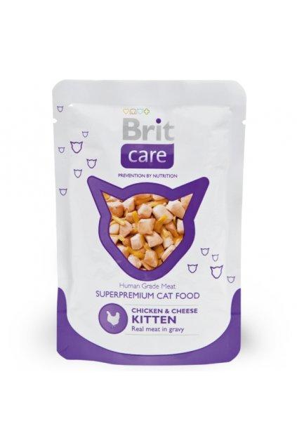 brit superpreium kitten chicken food