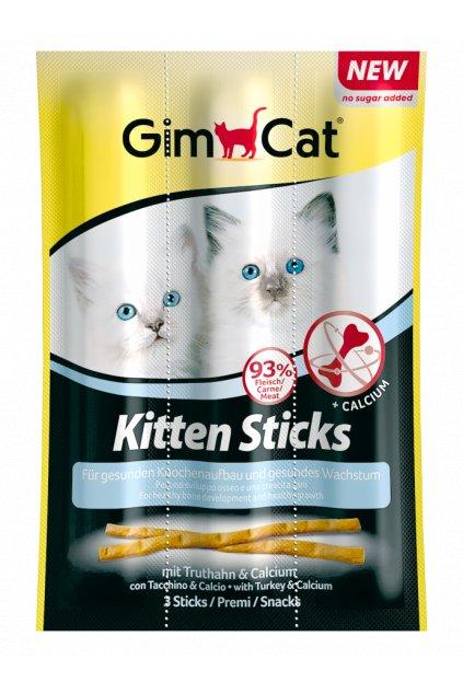 GIMPET Tyčinky - pro koťata 3 ks