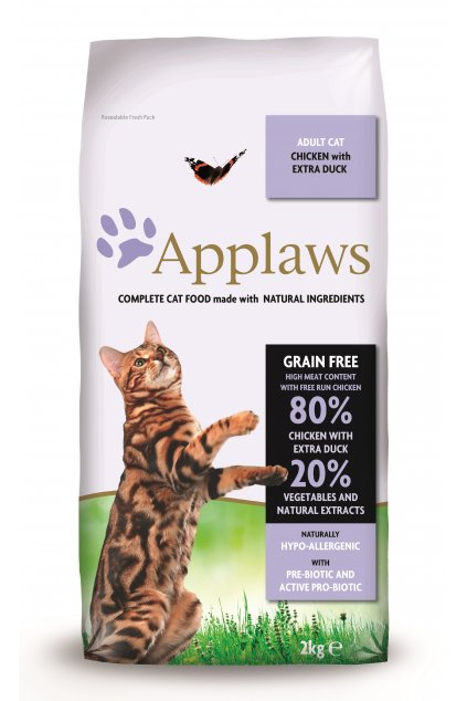 4204 Applaws granule CAT 2kg Duck