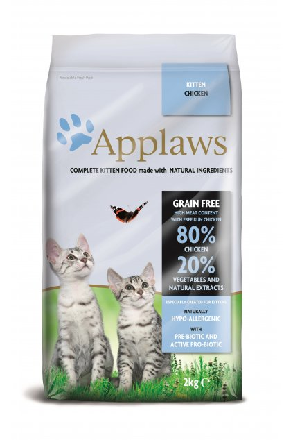 4204 Applaws granule CAT 2kg kitten