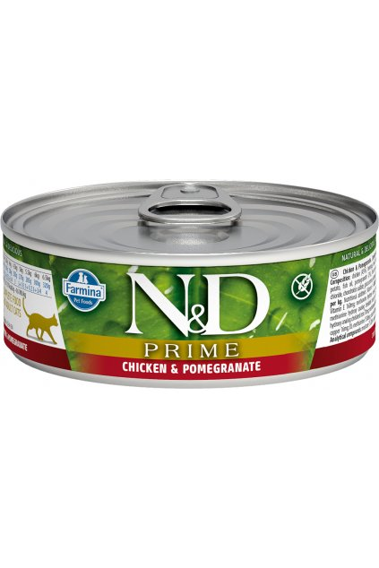 nd prime feline 80g CHICKEN@web