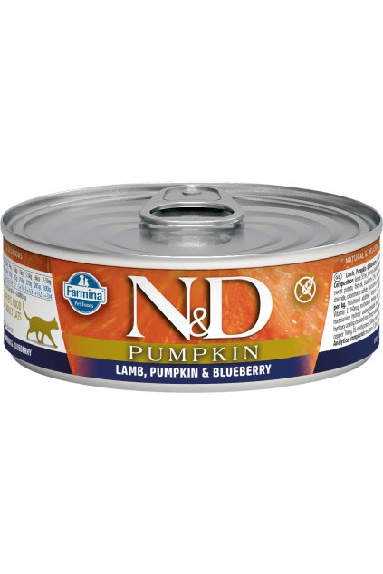 nd pumpkin feline 80g LAMB@web