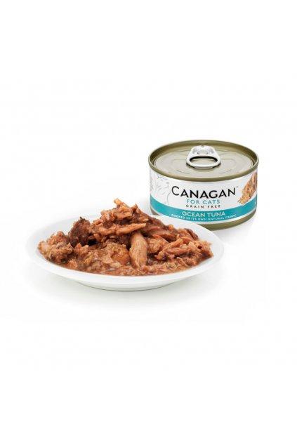 canagan tinwith plate ocean tuna