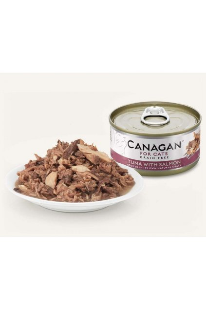 tuna salmon min canagan