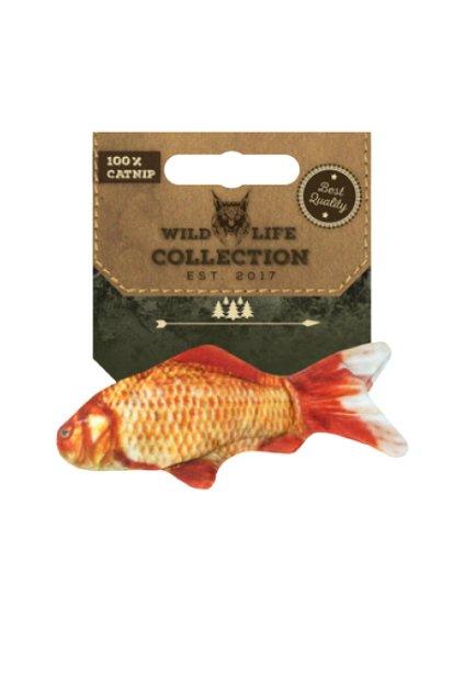 zlata rybka catnip hracka pro kocky