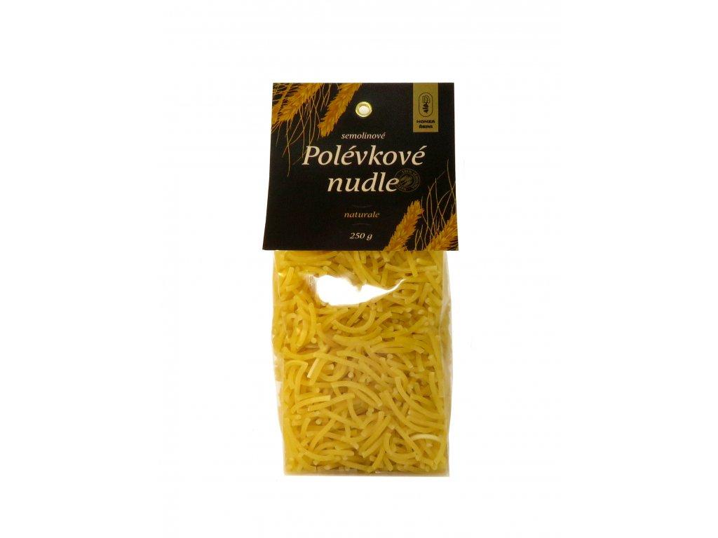 Polévkove nudle naturale 01