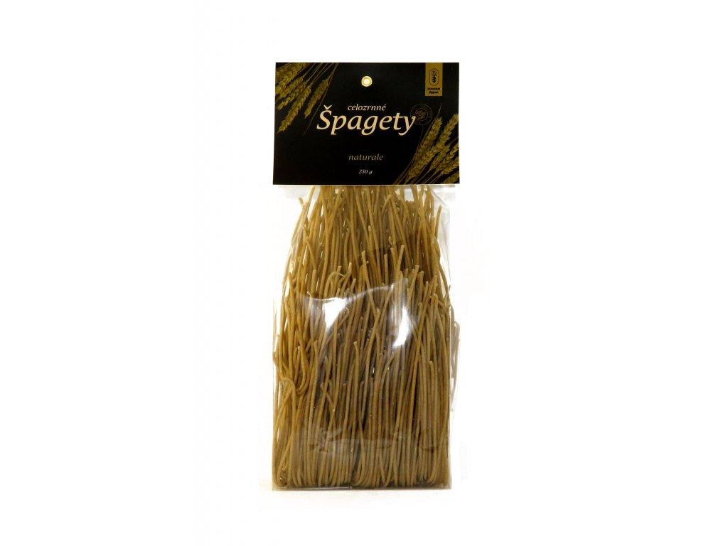 Špagety celozrnné 01