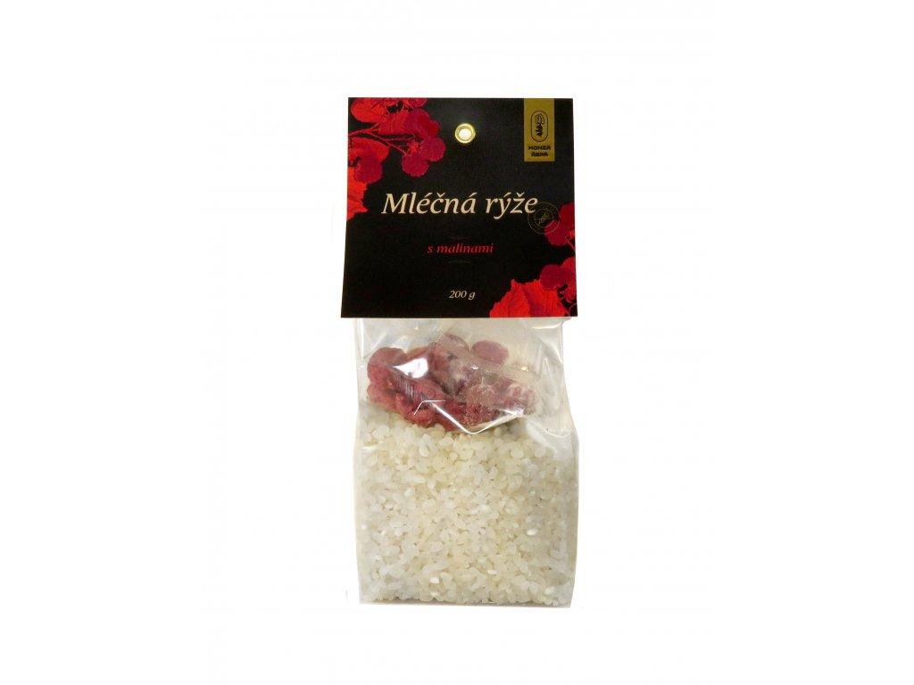 Mléčná rýže Maliny 01
