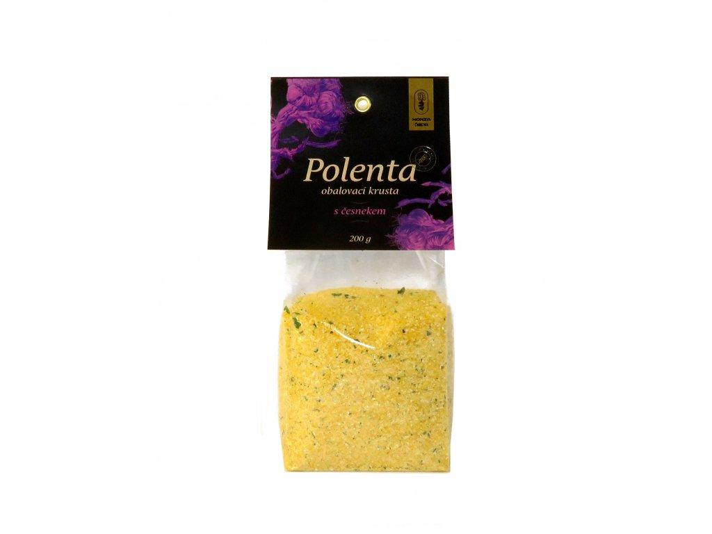 Polenta s česnekem 01