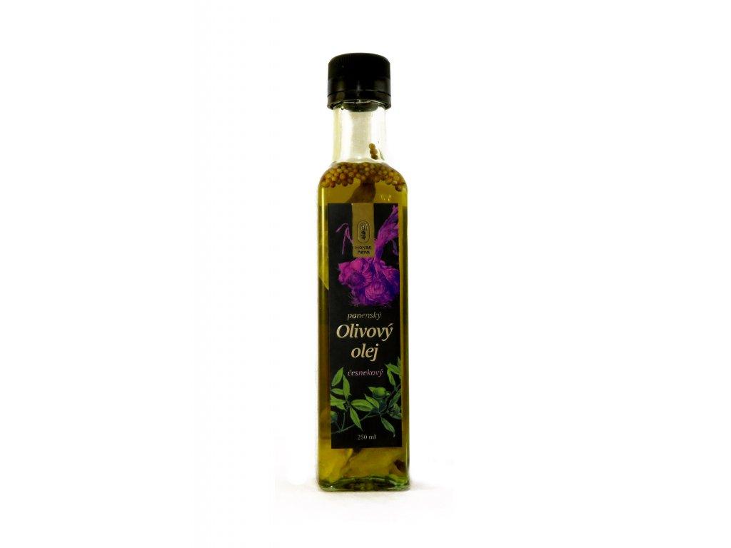 olej česnekový 01