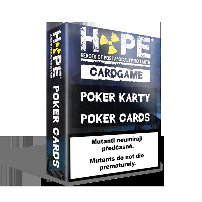 HOPE Poker karty