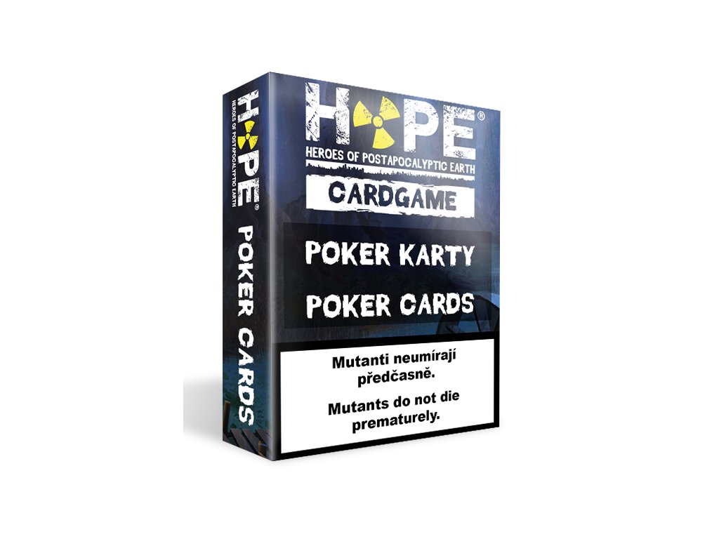 HOPE Poker karty