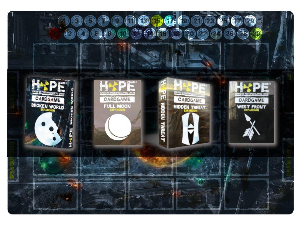 HOPE Cardgame - všechna rozšíření