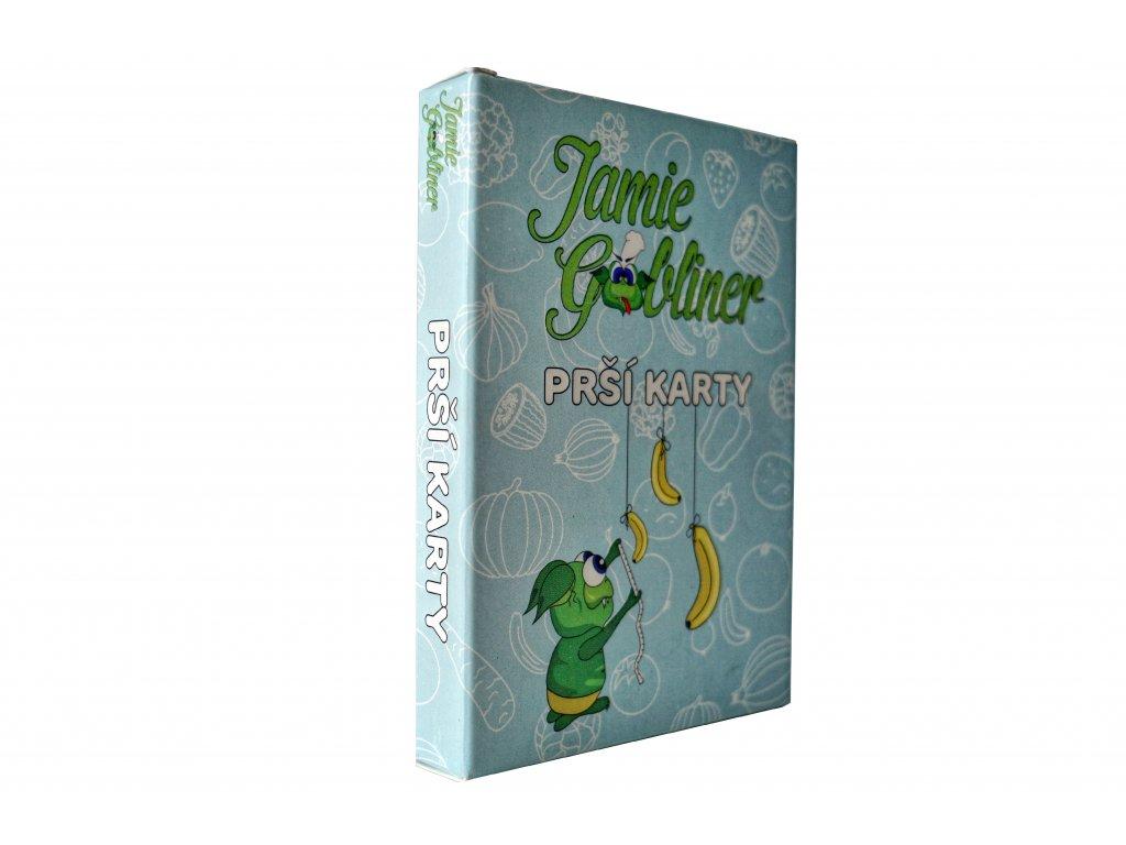 Prší karty s motivy Jamie Gobliner
