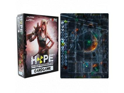 HOPE Cardgame - krabice a herní plán
