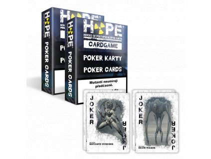 HOPE Canasta set - +4 joker karty