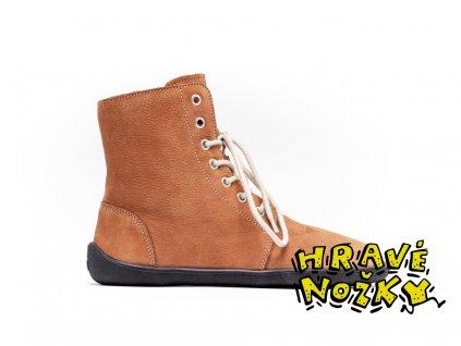 barefoot be lenka winter cognac 3480 size medium v 1