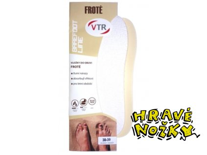 Vložky do bot Barefoot Froté