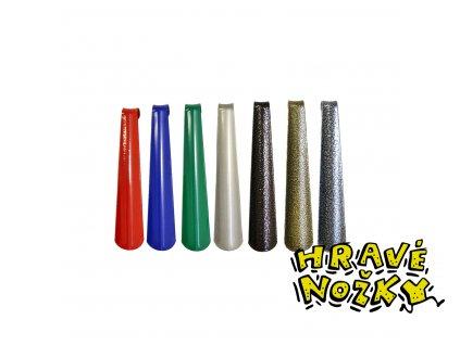 Obouvací lžíce kovová 23 cm
