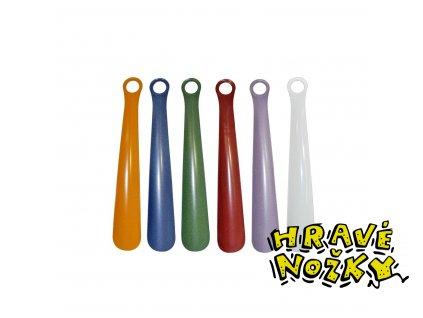 Obouvací lžíce kovová 30 cm