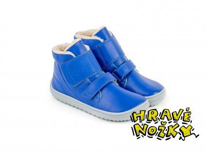 detske zimne barefoot topanky be lenka panda blue 24817 size large v 1