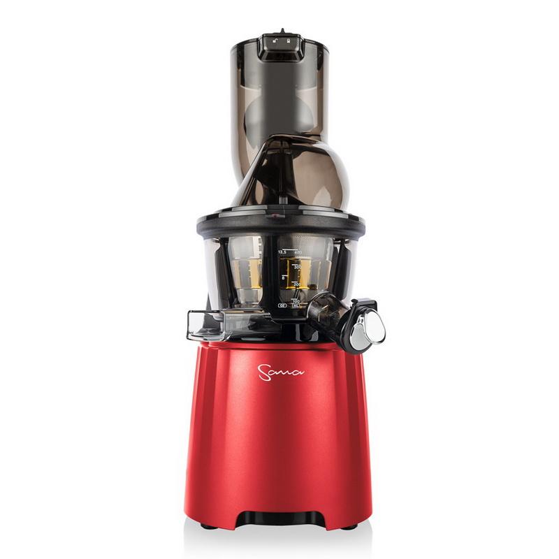 Hurom H34 'One Stop' - Luxusní šnekový odšťavňovač 3. gen, Alfa Barva: Červená