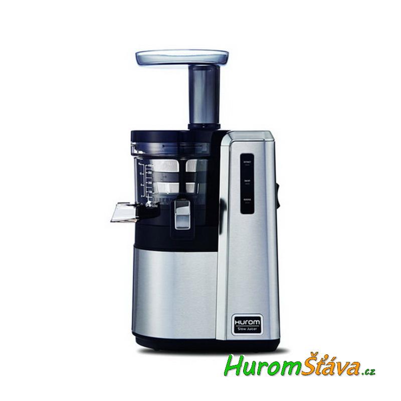 HUROM HZ Alpha NEREZ - 3. gen - luxusní šnekový odšťavňovač Barva: Stříbrná