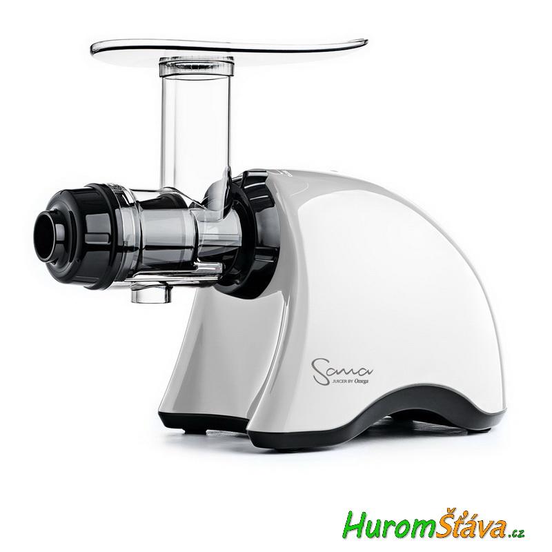 HUROM HH 2G - 2. gen, typ L (s páčkou) - luxusní šnekový odšťavňovač Barva: Bílá