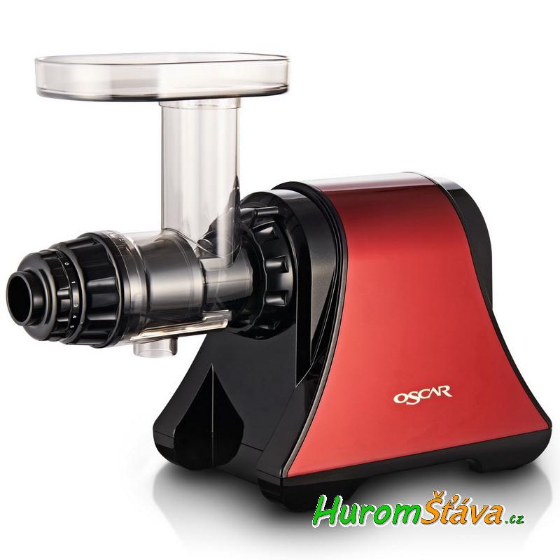 Oscar NEO DA: -1200 - univerzální šnekový odšťavňovač - barva červená