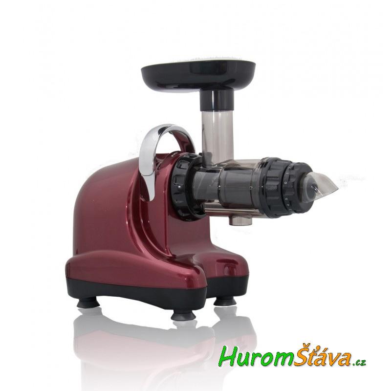 Oscar NEO DA-1000 - univerzální šnekový odšťavňovač Barva: Vínová