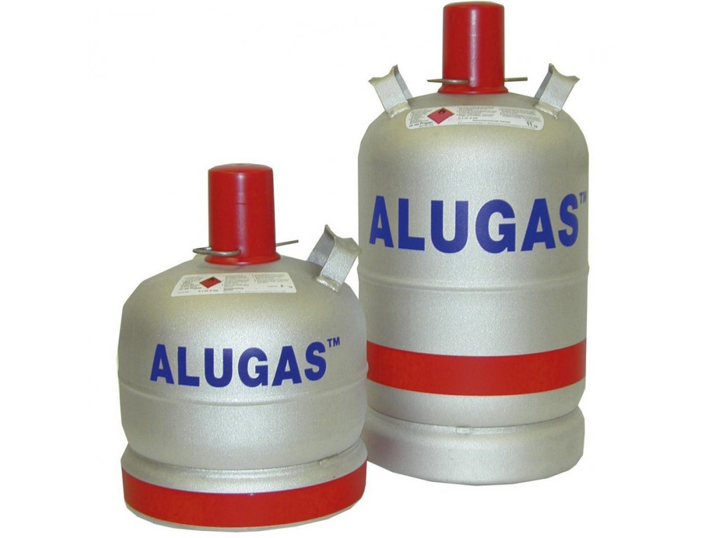 Hliníková plynová láhev ALUGAS
