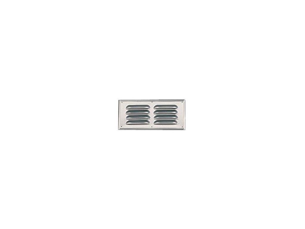 VENTILAČNÍ MŘÍŽKA PLECHOVÁ 250×115 (206/975)