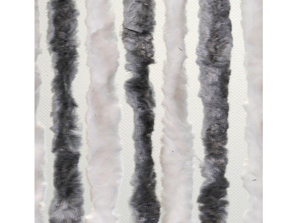 ZÁVĚS 56×175 ŠEDÁ/BÍLÁ (501/013)