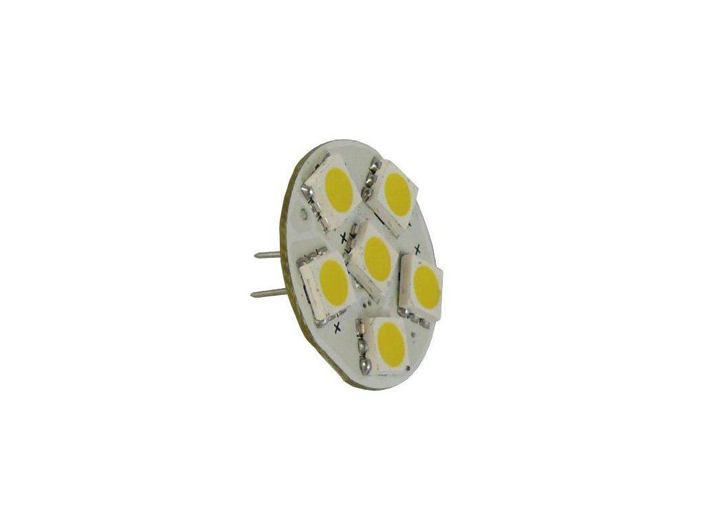 Green Power SMD Led žárovka 10 - 30 V, 1,3 W, 6 diod GZ4