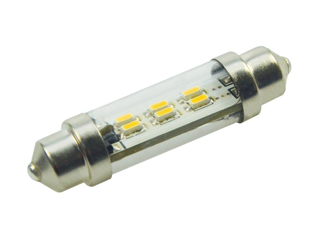 Green Power SMD Led žárovka 10 - 30 V, 0,9 W, 6diod