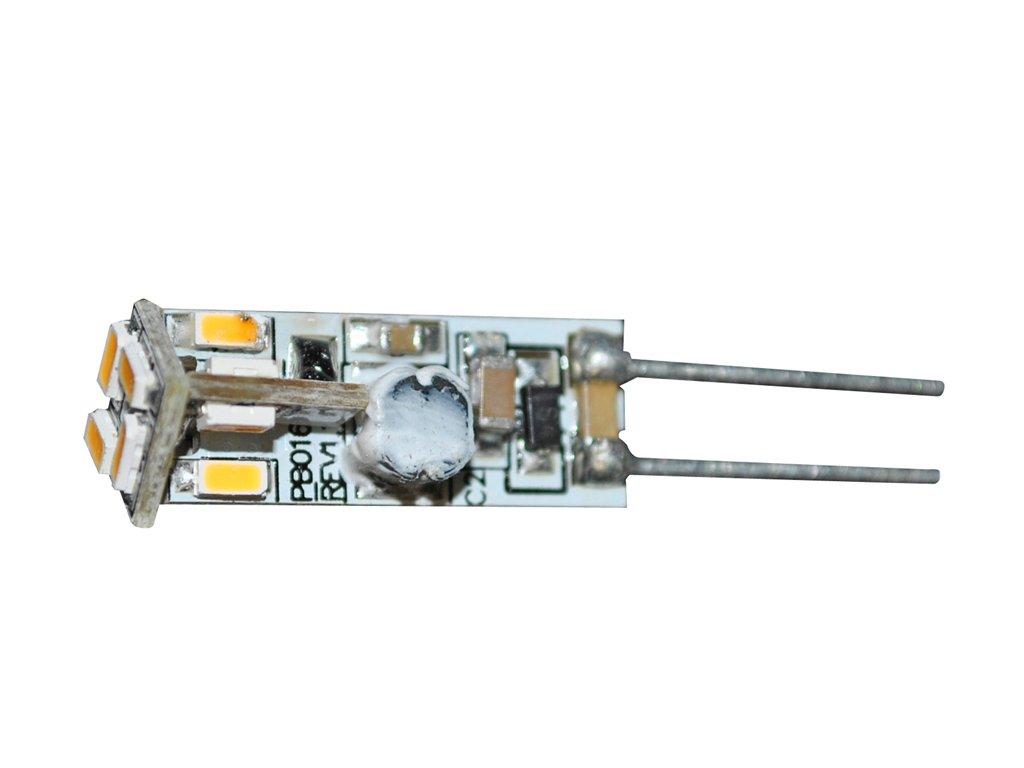 Green Power SMD LED žárovka 12 ks diod 10 - 30 V, 0,6 W, G4