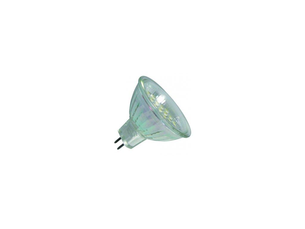 Green Power SMD Led žárovka 10 - 30 V, 1 W, 21 ks diod GU5.3