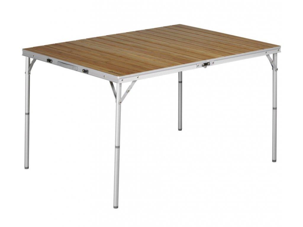 Outwell Bamboo Calgary skládací kempový stolek L