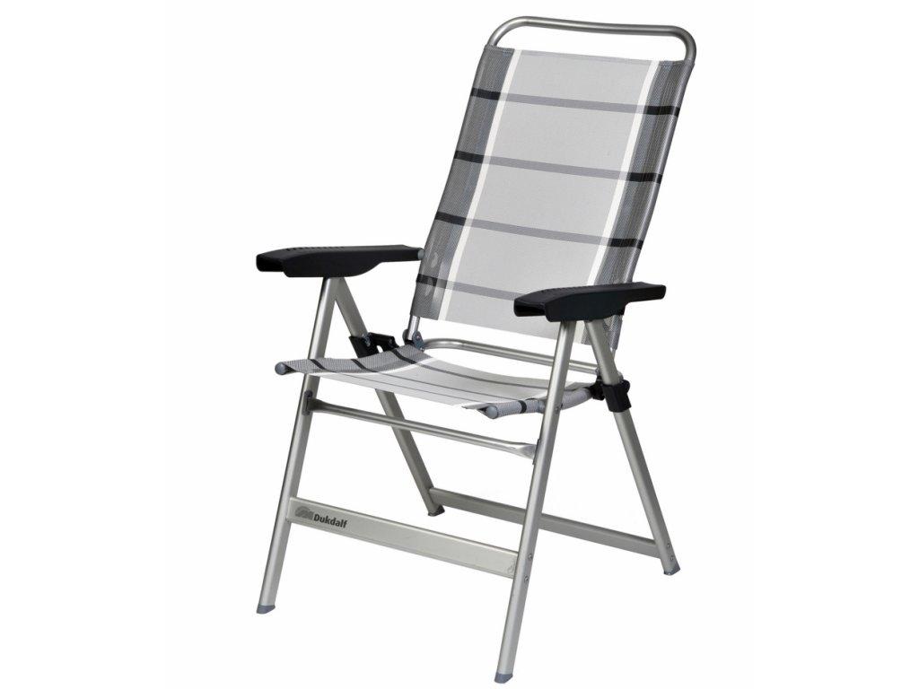 Dukdalf Dynamic Standard kempová židle stříbrná/antracit