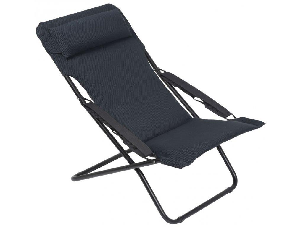 Lafuma Transabed XL Plus Air Comfort kempové lehátko šedé
