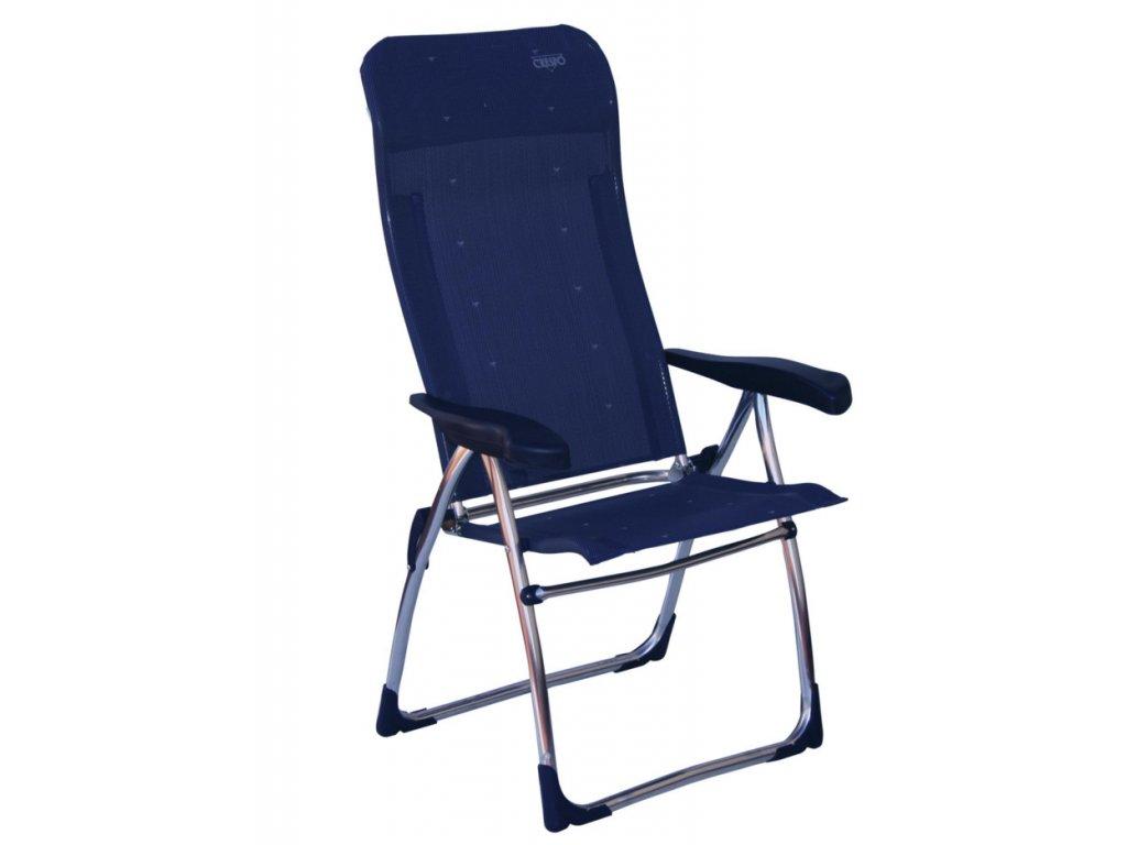 Crespo AL/315 kempová židle tmavě modrá