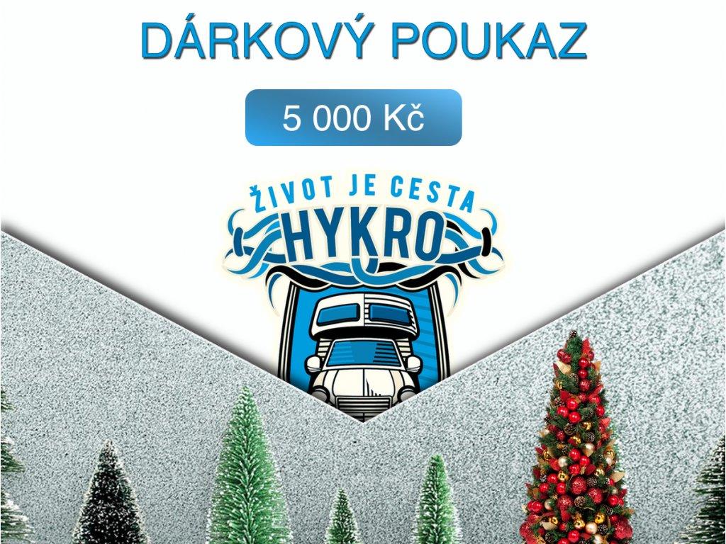 darkovy poukaz 5000a