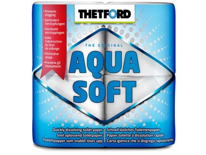 Aqua-soft rozkladový toaletní papír thetford