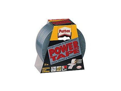 PATTEX POWER TAPE LEPÍCÍ PÁSKA STŘÍBRNÁ 25 M (451/042)