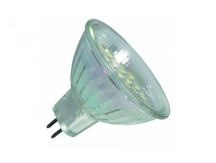 Green Power SMD Led žárovka 10 - 30 V, 1 W, 21 ks diod GU5.3
