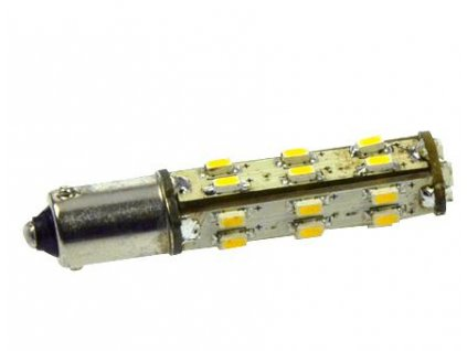 Green Power SMD Led žárovka 10 - 30 V, 1 W, 27 ks diod BA9S