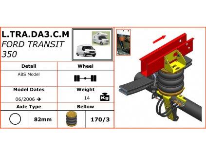 Vzduchové pérování na Ford Transit 350   06/2006-