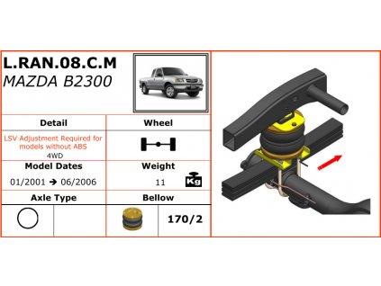 Dunlop měchy na Mazdu B2300   01/2001-06/2006